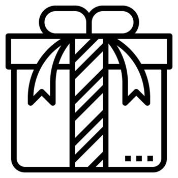 36 Line Icons - Christmas