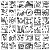 36 Line Icons - Travel #1