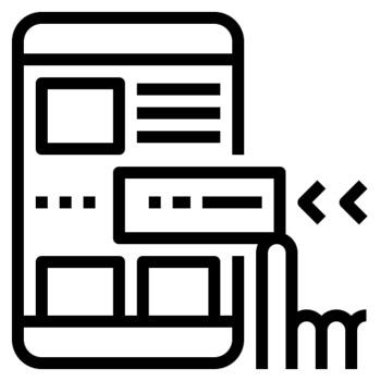 36 Line Icons - Web Design