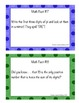 36 Middle School Math Facts of the Week Cards-Play With Your Numbers Series