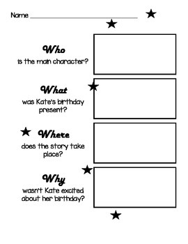 36 Pages of Primary Reading Comprehension : Who, What, Where, When, Why and How!