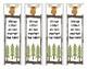 36 Positive Growth Mindset Bookmarks - Woodland / Forest Animals