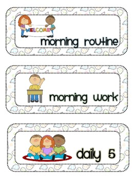 33 Schedule Cards-Paisley