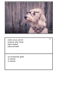 36 Spanish-Speaking Picture Prompts: El imperfecto (36 cards)