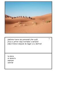 36 Spanish-Speaking Picture Prompts: El pretérito (36 cards)