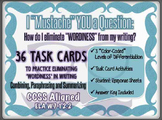 36 Task Cards - Combine Sentences, Paraphrase and Summarize- CCSS L.7-12.1-3