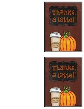 Thank You Notes 36 Thanksgiving & Autumn Cards {Editable}