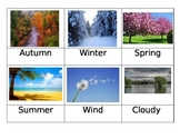 36 Weather Picture Cards