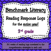 36 Weekly Reading Response Logs for Benchmark Literacy - 3