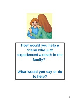 Character Education Bulletin Board Discussion Starters
