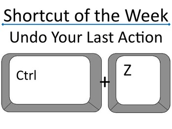 36 Weeks of Keyboard Shortcuts for the PC