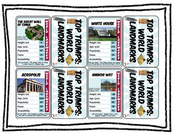 Review War Game:  World Landmarks