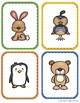 36 picture animal cards/flash cards/memory game