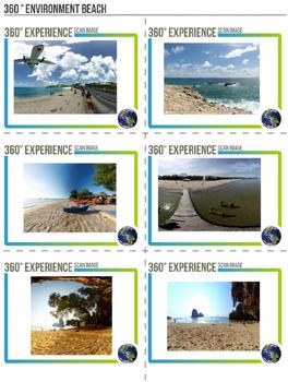 360 Degree Virtual Environment - Beaches