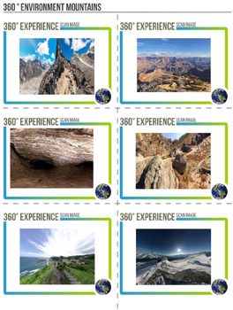 360 Degree Virtual Environment - Mountains