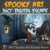 360° Digital Escape Room - Spooky Visual Art -ELA digital