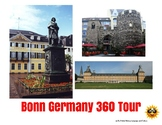 Bonn Germany Tour Project - Digital or Printable Lesson - distance learning