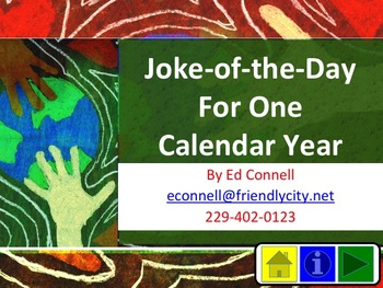 365 Day Calendar with Jokes Riddles Puns and Pictures Part 1