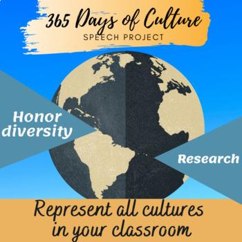 Speech Project: 365 Days of Culture