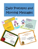 365 Days of Precepts and Morning Messages