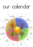 365 Degree Circular Calendar