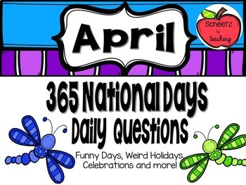 Daily Discussion Slides - April National Days