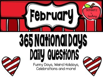 365 National Days - Questions (February)