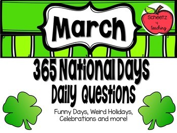 365 National Days - Questions (March)
