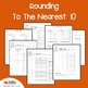 Rounding to the Nearest 10 Number Lines, Place Value 3 Digit Worksheets