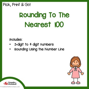 Place Value Rounding To The Nearest 100