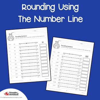Place Value Rounding Using Number Line