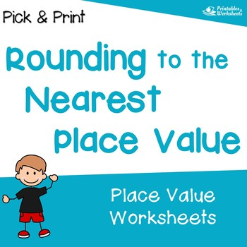 Place Value Rounding - Kidz Activities