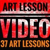 37 Art Lessons - Videos