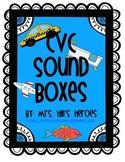 37 CVC Sound Boxes- Common Core