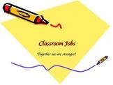 37 Classroom Jobs