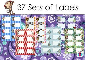 37 Label Sets
