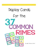 37 Most Common Rimes Cards