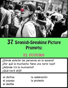 37 Spanish-Speaking Picture Prompts: El futuro (37 cards)