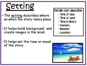 Reading: Story Elements: Power Point Presentation