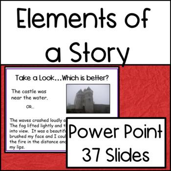 Reading: Story Elements: Power Point Presentation