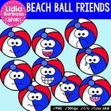 38 Beach Ball Friends- Digital Clipart