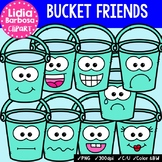 38 Bucket Friends- Digital Clipart