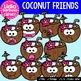38 Coconut Friends- Digital Clipart