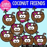 38 Coconut Friends- Digital Clipart