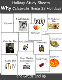 Holiday Worksheets for Kids: What is this holiday about?