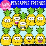 38 Pineapple Friends- Digital Clipart