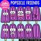 38 Popsicle Friends- Digital Clipart