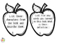 Comprehension Task Cards  - Blooms Taxonomy