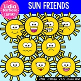 38 Sun Friends- Digital Clipart