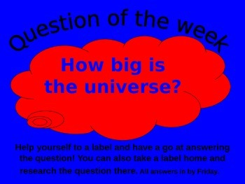 38 questions of the week